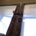 Detail eines Barockfensters, Dürnstein